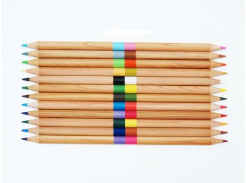 F-CP35-24_12-24 Double-Ended Colored Pencil