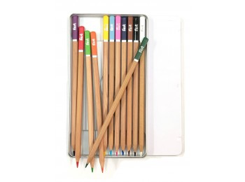 F-CP50-12_Square Shaped Colored Pencil